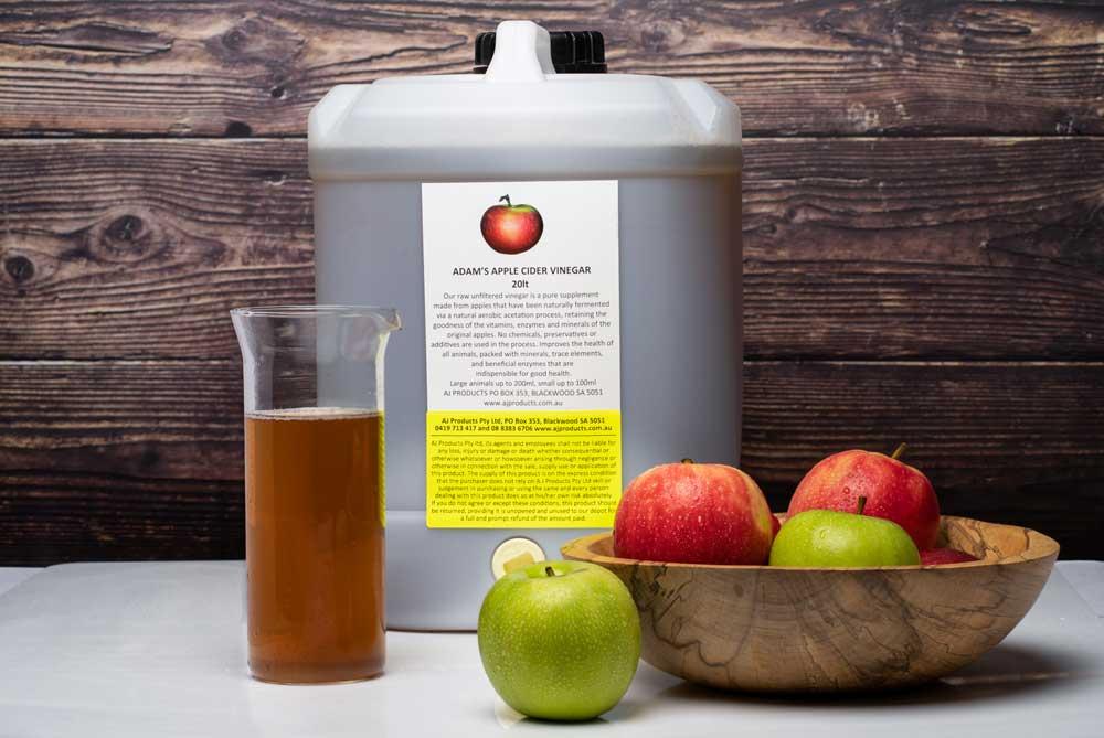 Adam's apple cider vinegar