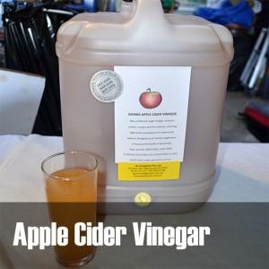 animal applecider vinegar