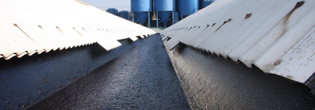 liquid rubber gutters
